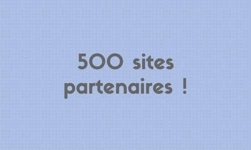 Seolinks atteint la barre des 500 sites partenaires